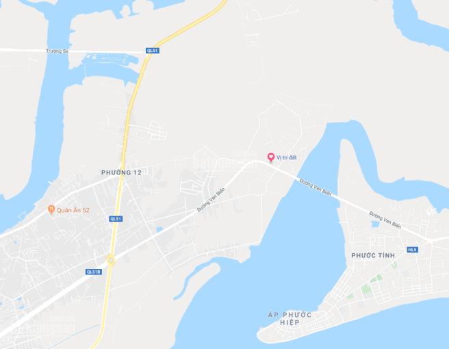 Bán 400m2 đất mặt tiền Phường 12 - đường Phước Thắng - TP Vũng Tàu (gần cầu cửa lấp)