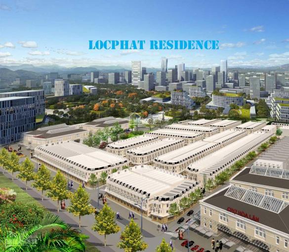 Bán đất nền đường chính Lộc Phát Residence vị trí đắc địa, sổ đỏ sang tên. LH chính chủ: 0921590711