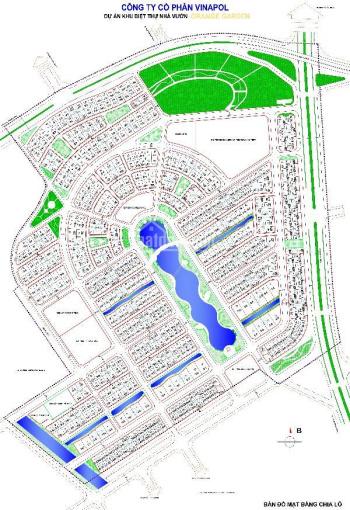 CC bán đất nền biệt thự Vườn Cam Orange Garde DL01 - 98 mặt kênh 22.5 tr/m2. LH em Hiền 0911716499