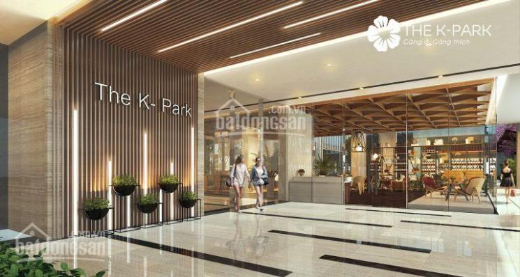 Cần bán gấp chung cư 2 phòng ngủ The K Park, full nội thất, LH 0985.183.693
