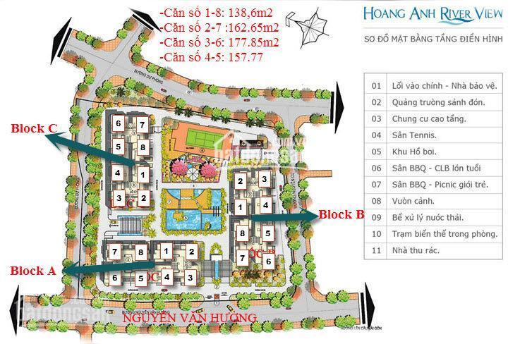 Cho thuê căn hộ chung cư tại dự án Hoàng Anh River View, Quận 2, Hồ Chí Minh, diện tích 162m2