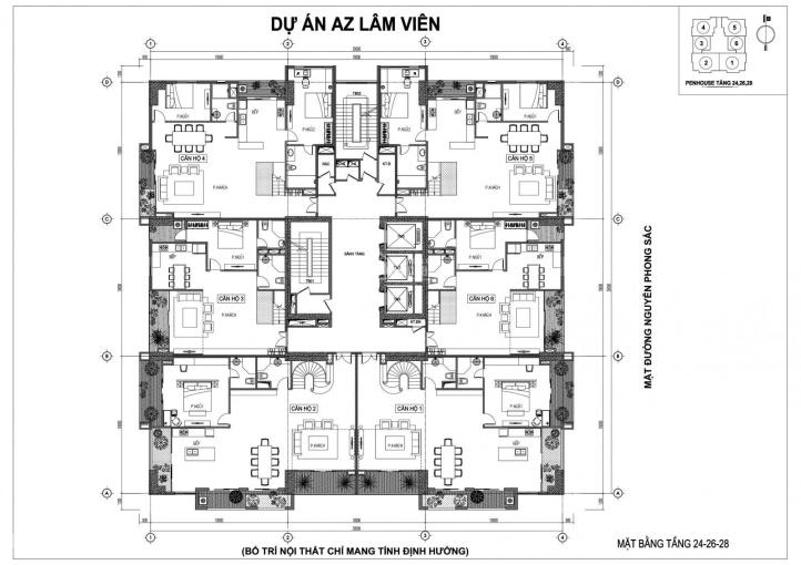 Tôi cần bán gấp căn chung cư AZ Lâm Viên Nguyễn Phòng Sắc 3PN, giá 24,5tr/m2. LH: 0972197233