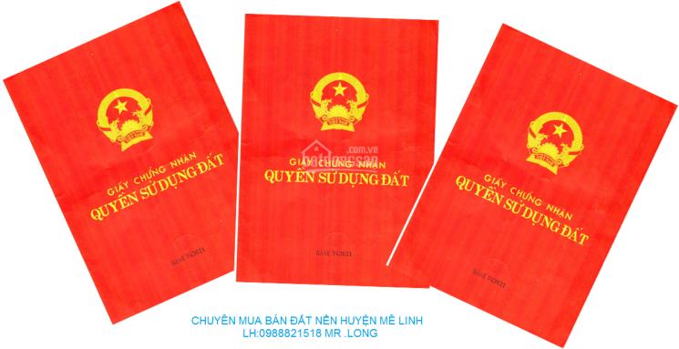 Chuyên mua bán đất liền kề biệt thự KĐT Hà Phong huyện Mê Linh, 0988821518 Mr Long
