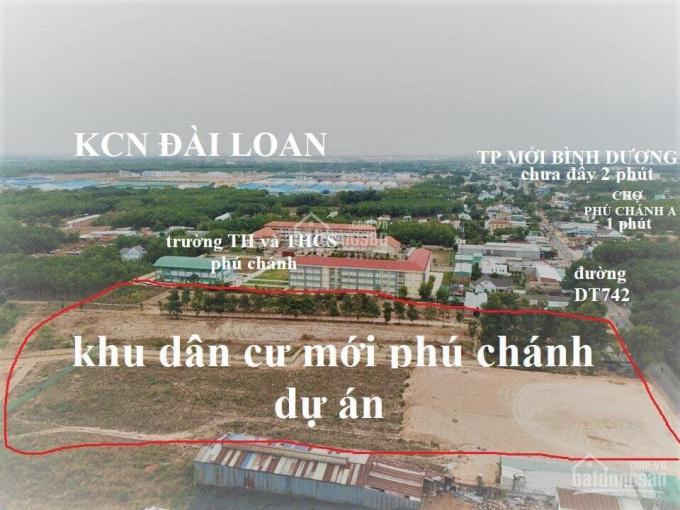 Bán đất Phú Chánh liền kề chợ. Giá chỉ 900 triệu/nền