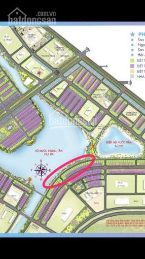 Bán biệt thự đơn lập mặt hồ Hải Âu 1 - 300m2 kí mới chủ đầu tư Vinhomes LH: PKD 0969.94.6869