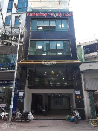 Cho thuê nhà số 103 mặt phố Trần Quốc Vượng (cách đường Xuân Thủy - Cầu Giấy 150m)