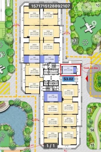 Lô shop đế 1 tầng tòa S3.02 dự án Vinhomes Smart City chênh rẻ nhất thị trường, LH: 097.1996.199