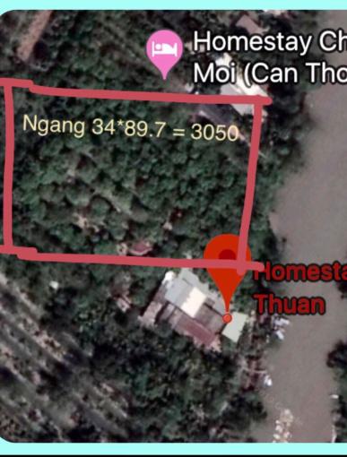 Mặt tiền sông lớn Bông Vang, Mỹ Khánh, liên hệ: 0939180158 Khoa
