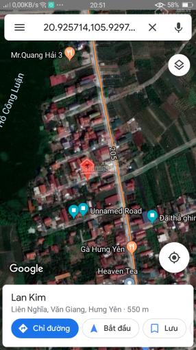 Bán đất DT 58m2 giá 500tr bao phí ô tô vào tận cổng. Vị trí đất giao nhau Liên Nghĩa thị trấn