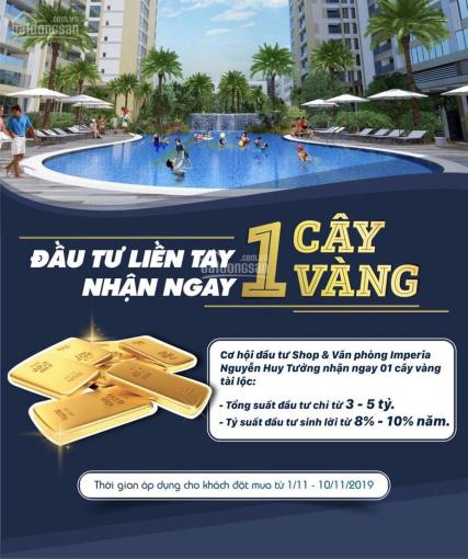 Tặng 1 cây vàng mua văn phòng tầng 4, shop khối đế Imperia Garden, Nguyễn Huy Tưởng. LH: 0911909866
