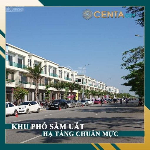 Mở bán đợt 2 Centa City Vsip giáp Gia Lâm, Hà Nội shophouse DT 120m2, đường 26m, giá chỉ hơn 3 tỷ