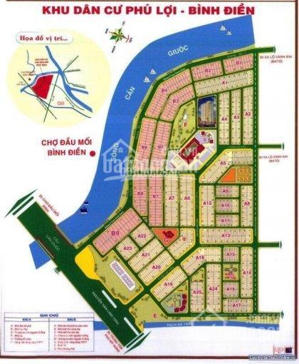 Cần bán đất nền KDC Phú Lợi, Q. 8 ngay cầu Cần Giuộc, 80m2, SHR, thổ cư, 0776777527
