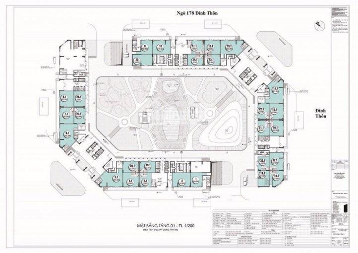 BQL dự án cho thuê mặt bằng diện tích nhỏ tại dự án The Emeral CT8 Mỹ Đình ảnh 0