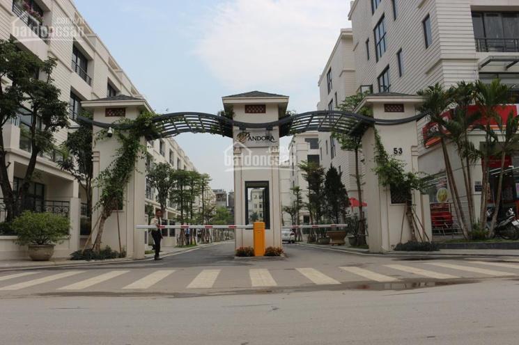 Cho thuê VP khu nhà vườn Pandora - 53 Triều Khúc, quận Thanh Xuân, hướng Đông Bắc, có thang máy