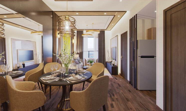 [Chính Chủ] Cần bán 01 căn hộ thương mại vị trí đẹp tại dự án Green River, Quận 8. LH: 0906916991