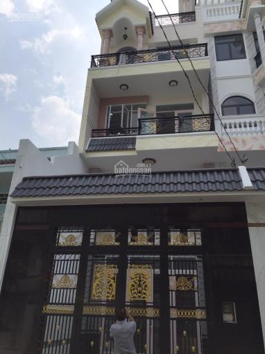 Nhà đẹp rộng 5 x 15m 1 trệt lửng 2 lầu ST Lê Cơ 1 sẹc Q. Bình Tân, HCM, 6,9 tỷ. Hạnh 0907542157
