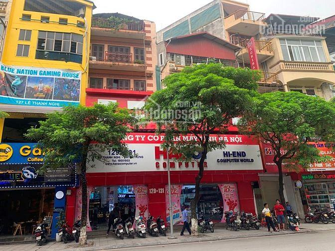 Bán nhà mặt phố hiếm Lê Thanh Nghị 250m2, mặt tiền 8.8m, vỉa hè rộng 65 tỷ, 0905597409