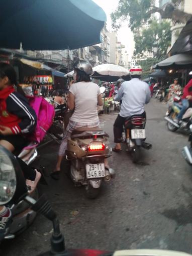 Kinh doanh siêu vip, bán nhà (chợ Vồ) mặt phố chợ Phan Đình Phùng, Hà Đông, 5,2 tỷ