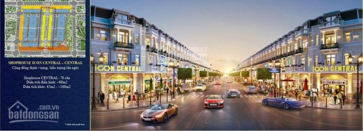Shop house mặt tiền đường chính. CĐT mở bán giai đoạn 1
