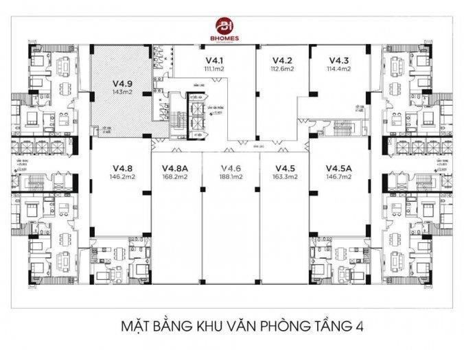 Mặt sàn văn phòng tầng 4 dự án Imperia Garden, 203 Nguyễn Huy Tưởng, nhận bàn giao ngay, 0942314795