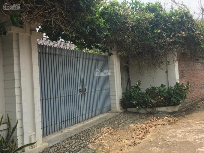 Cần bán nhà đất 1002m2 đã xây dựng một biệt thự nhà vườn hoàn chỉnh tại Phú Cát, Quốc Oai, Hà Nội