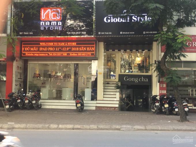 Cho thuê cửa hàng kinh doanh tại 109 Thái hà, Đống Đa. DT 60m2, LH 0904324325