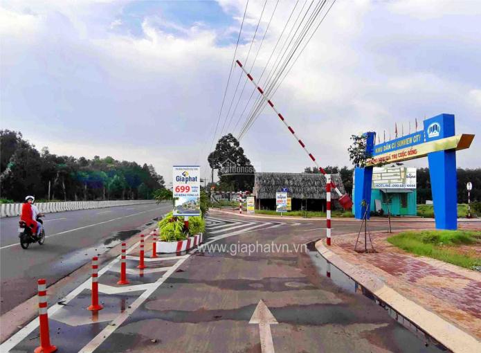 Bán đất nền Sunview City, Quốc lộ 13, Thị trấn Lai Uyên, huyện Bàu Bàng, Bình Dương