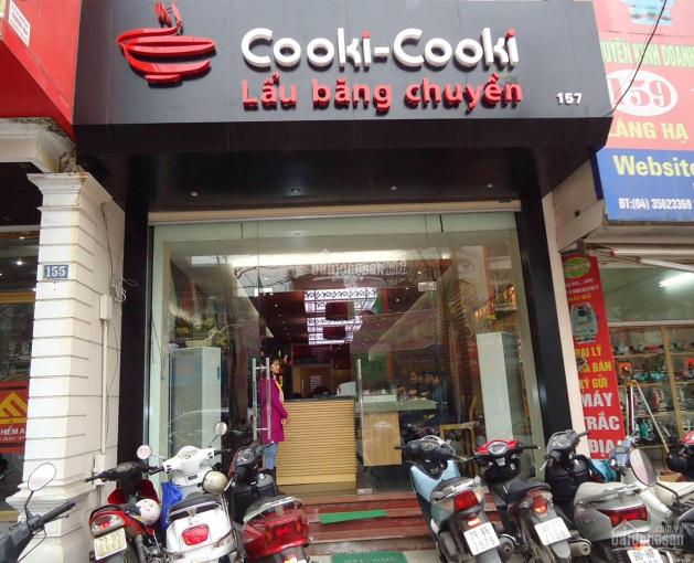 Cho thuê cửa hàng ngõ 171 Thái Hà, 62m2, MT 4m, giá: 16tr/th, khu văn phòng rất đông đúc