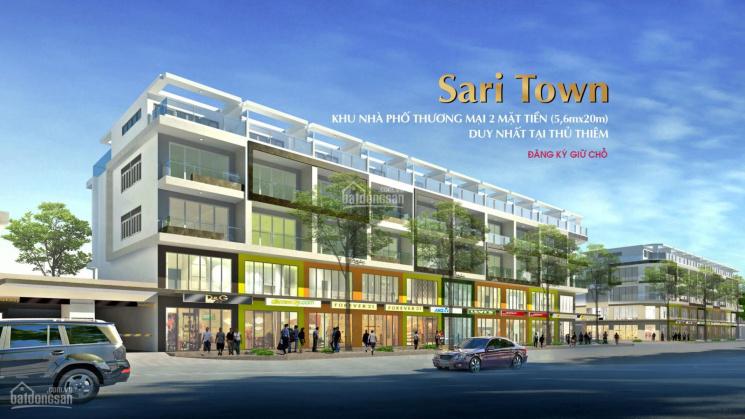 Cho thuê gấp Shophouse Sari Town, rẻ nhất Sala, 170 m2, giá thuê 40tr/th. LH: 0948123911