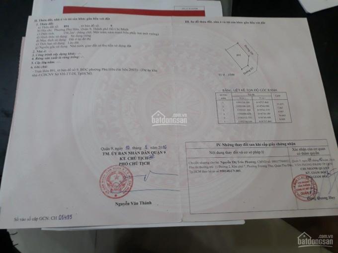 Chính chủ bán nhanh lô góc 2 mặt tiền dự án KDC Sở Văn Hoá Thông Tin