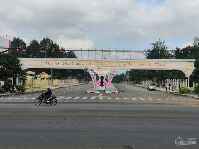 Bán đất Đồng Phú - ngay trung tâm hành chính - sổ hồng trao tay