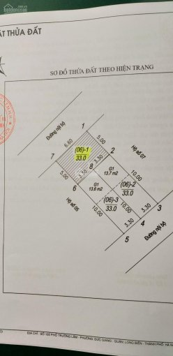 Chỉ 1,48 tỷ có ngay mảnh đất 33m2 mặt ngõ rộng 4m ô tô vào nhà phố Đức Giang cạnh chợ Đức Hòa