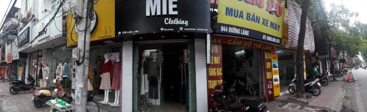 Cho thuê cửa hàng kinh doanh đường Láng. LH: 0978219118