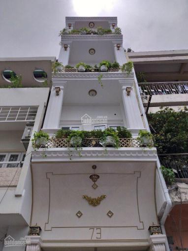 Cho thuê nhà mặt tiền đường Phó Đức Chính Q1, 1 trệt 4 tầng sân thượng. Giá 80tr