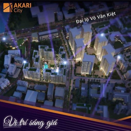 Bán căn hộ Akari City 56m2 chỉ 2.070tỷ, 75m2 chỉ 2.5tỷ giá tốt nhất thị trường LH ngay: 0909025189