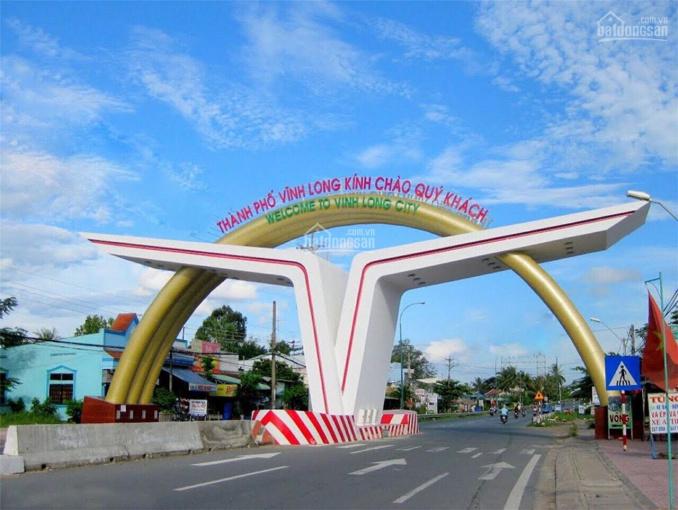 Bán đất nền sổ đỏ ngay TP Vĩnh Long, cơ sở hạ tầng 100% tặng 5 chỉ vàng 9999 CK 18%, LH: 0978313503 ảnh 0