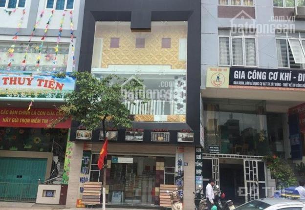 Cho thuê cả nhà mặt phố Thái Hà 100m2 x 5 tầng, giá 80tr/tháng