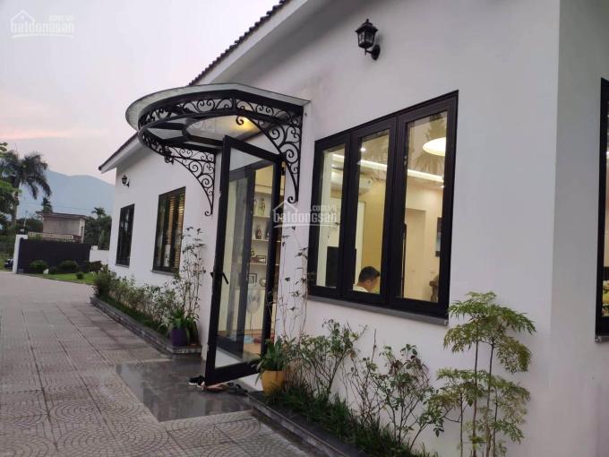 Cần chuyển nhượng 914m2 khuôn viên nghỉ dưỡng tuyệt đẹp tại xã Phú Mãn, huyện Quốc Oai, TP Hà Nội