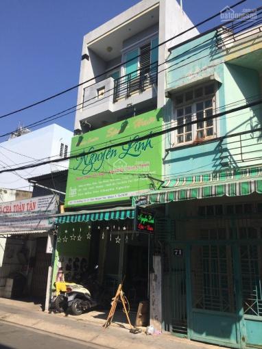 Nhà mặt tiền đường Số 13 Cư Xá Ngân Hàng, quận 7. DT: 4x16,5m