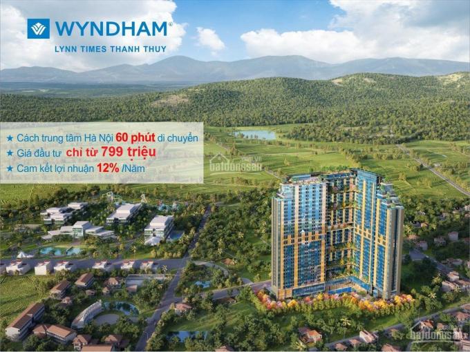 Bán Căn Hộ Nghỉ Dưỡng 5* Chỉ 700tr/căn Cam Kết LN 12%/năm Ck 8,5% tại Wyndham Thanh Thủy 0865101686