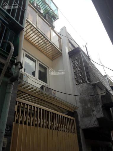 Bán nhà Đinh Tiên Hoàng, Bạch Đằng, P1, 4 lầu, 3.7 tỷ
