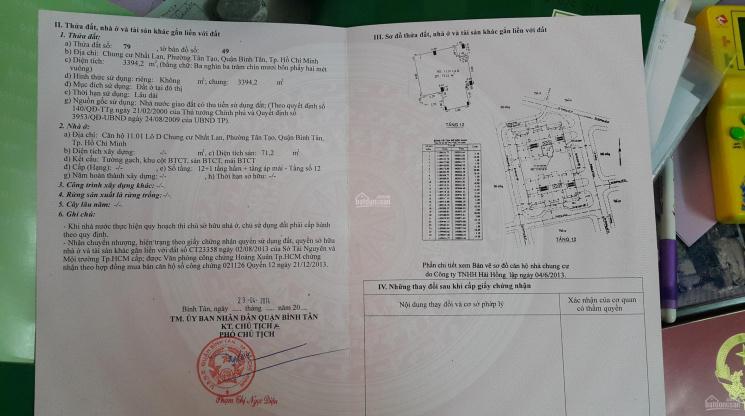 Bán căn hộ Nhất Lan 2 - Quận Bình Tân