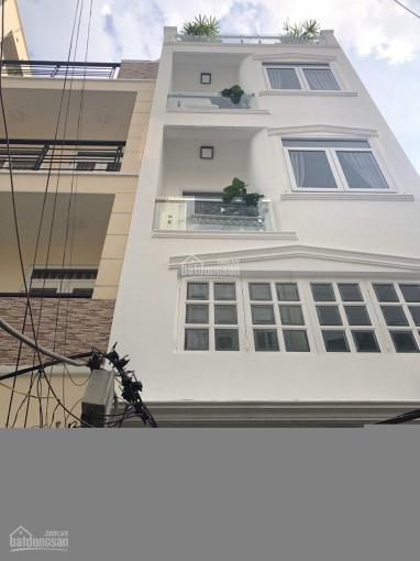 Cho thuê nhà nguyên căn hẻm xe tải Yên Thế Tân Bình 5x20m T3L 4PN nội thất 2 sao giá chỉ 35 triệu