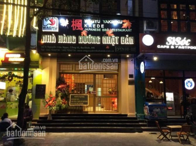Cho thuê MP Vũ Phạm Hàm, DT 160m2 x 5 tầng, MT 6m, thuê giá tốt, vị trí đẹp nhất phố, KD mọi MH