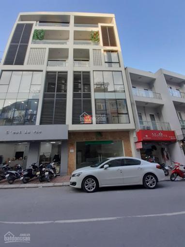 Cho thuê nhà 71A ngõ 9 Hoàng Cầu, 80m2, 6 tầng, mặt tiền 5m, thông sàn, xây mới thang máy hiện đại