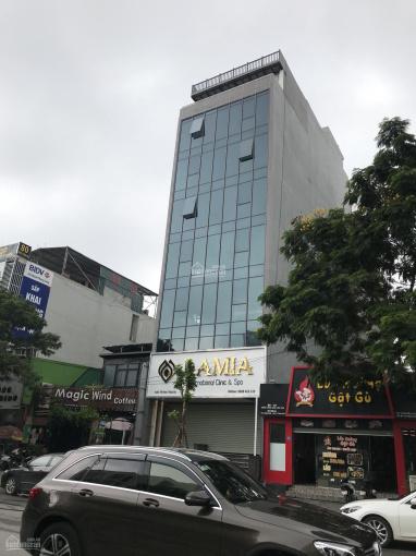 Bán tòa nhà văn phòng ngõ 131 Thái Hà 28,5 tỷ, 150m2 mặt tiền 9m, xây 8 tầng đang cho thuê cao
