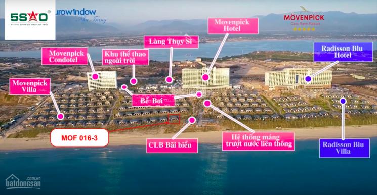 Bán gấp căn biệt thự mặt biển Movenpick Cam Ranh. LH: 0903403079