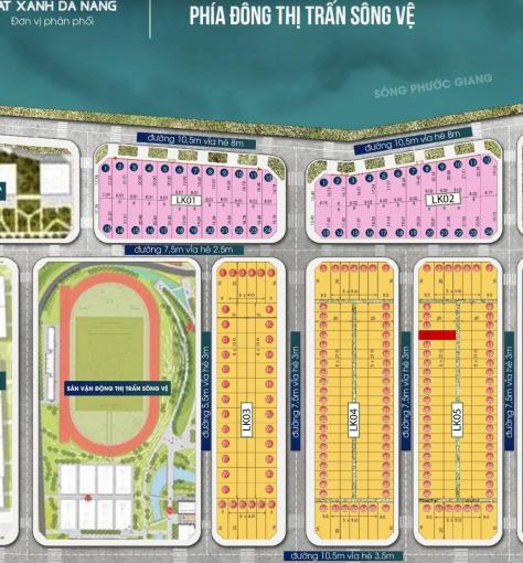 Chính chủ cần tiền bán gấp 2 lô đất có sổ, ngay UBND thị trấn Sông Vệ, đường 7,5m5, giá chỉ 9 triệu
