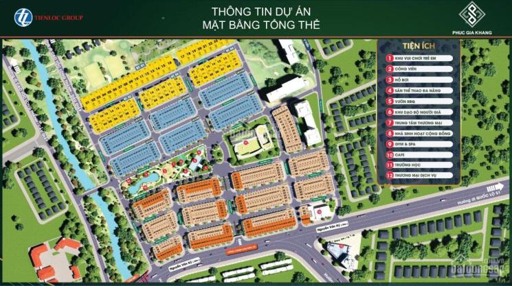 Chính thức tung 75 căn shophouse, nhà phố, KDC Tiến Lộc Garden, liền kề sân bay Long Thành