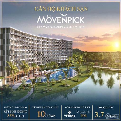 TT 55% là sở hữu căn hộ nghỉ dưỡng Phú Quốc - tiêu chuẩn 5* - Cam kết LN 10%/năm. LH: 093.202.9892